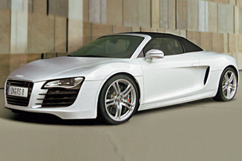 спортивная Audi