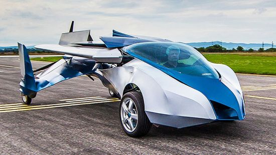 Летающий автомобиль создали